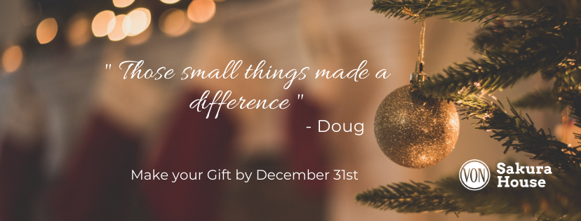 Donate before December 31st to Receive a 2020 Tax Receipt