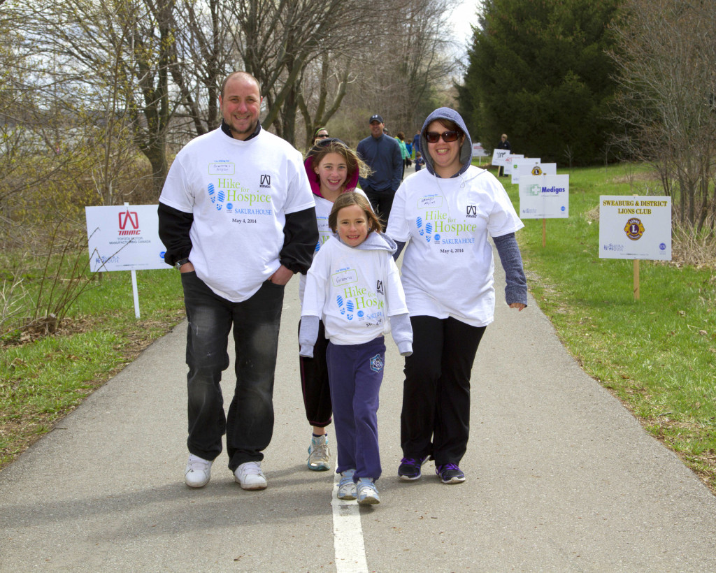 Hike for Hospice 2014