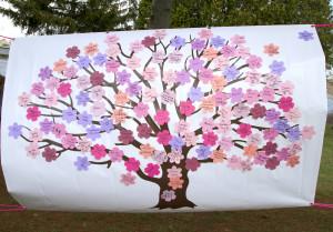 Sakura Tree Banner